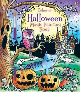 halloween magic painting book image