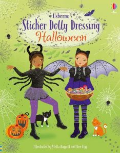 sticker dolly dressing halloween book image