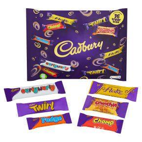 cadburys chocolate treat bag image