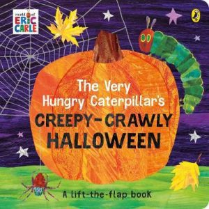 the very hungry caterpillars creepy-crawly halloween book image